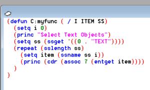 Autolisp Sample