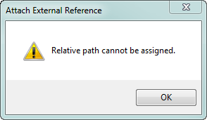 No Relative Path