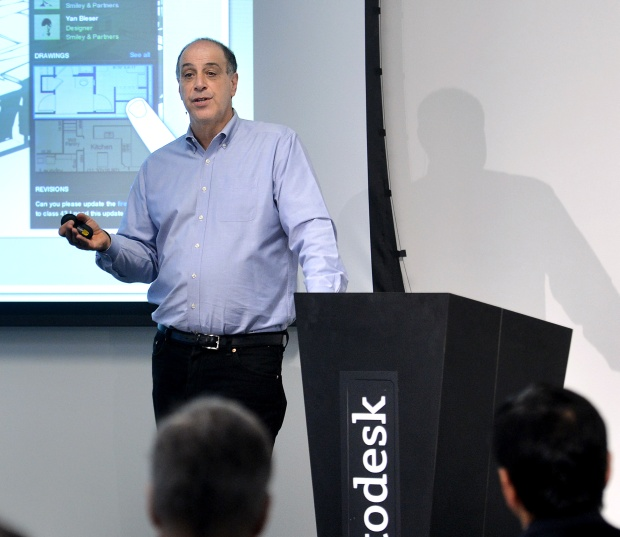 Autodesk CEO Carl Bass