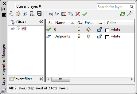 Layer Properties Palette