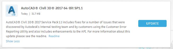 C3D SP1.1