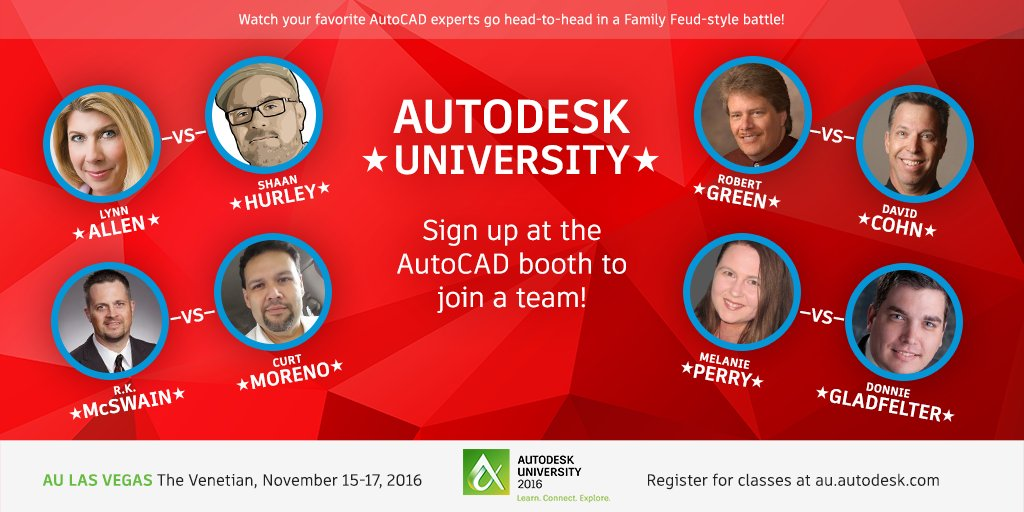 AutoCAD Family Feud 2016
