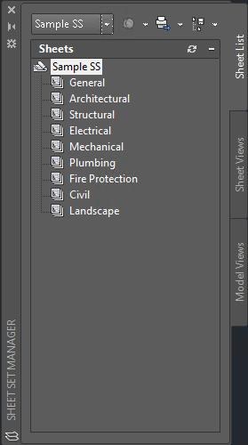 Sample Sheet Set Manager palette