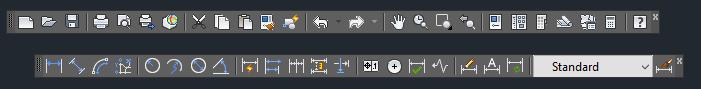 AutoCAD Toolbars